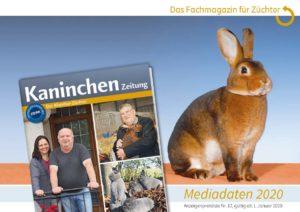 Titel Mediadaten Kaninchenzeitung 2020